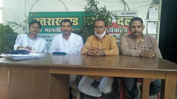 रोजगार मूलनिवास व भू क़ानून को लेकर उक्रांद करेगा बड़ा आंदोलन, त्रिवेंद्र सिंह पंवार करंगे भूख हड़ताल
