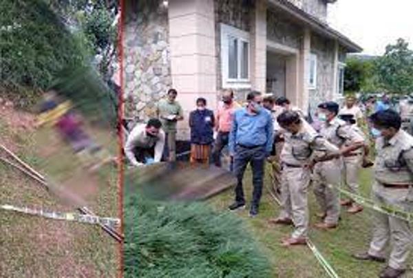 कोठी के पीछे लहूलुहान हालत में मिला महिला व पुरुष का शव, पुलिस को हत्या का शक