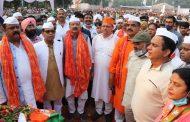 सीएम पुष्कर सिंह धामी ने रुद्रपुर में उत्तराखण्ड का सबसे ऊंचा राष्ट्रध्वज फहराया