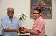 मुख्यमंत्री धामी से मशहूर फिल्म निर्माता बोनी कपूर ने की भेंट, प्रदेश में फिल्मांकन के संबंध पर की चर्चा