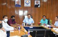 मुख्यमंत्री ने की कोविड.19 एवं डेंगू से बचाव कार्यों की समीक्षा