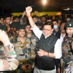 मुख्यमंत्री ने टेरिटोरियल आर्मी डे पर जवानों को दी बधाई