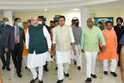 केन्द्रीय गृहमंत्री अमित शाह ने प्रदेश में आपदा की स्थिति का लिया जायजा .बोले, केंद्र व राज्य की एजेंसियों में बेहतर समन्वय देखने को मिला