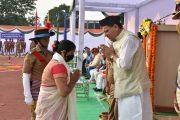 पुलिस स्मृति दिवस के अवसर पर मुख्यमंत्री ने शहीद पुलिस जवानों को दी श्रद्धांजलि