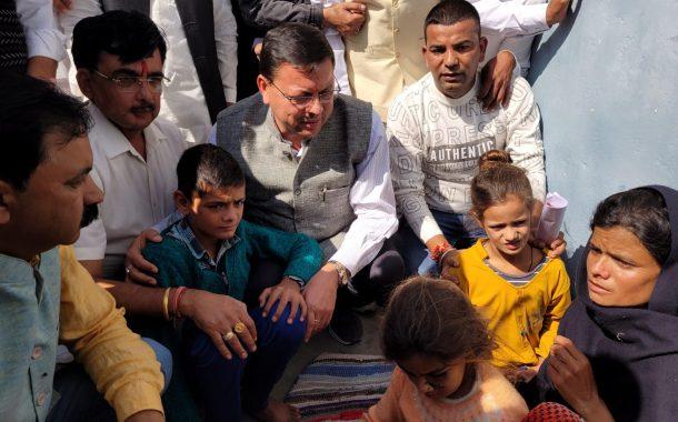 मुख्यमंत्री ने किया आपदा प्रभावितजनपदचम्पावत का दौरा कहा,  पीड़ितों व आम जनमानस के साथ सरकार खड़ी है
