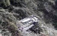 घनसाली के समीप खाई में गिरी कार: दो की मौत